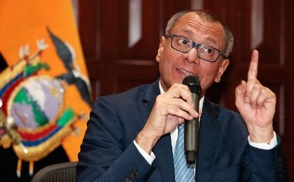 Jorge Glas has denied any wrongdoing.