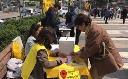 Almost 700,000 Chileans voted in the non-binding citizen plebiscite