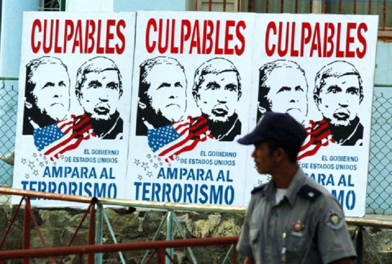 Declassified CIA documents showed that one of the key figures in this terrorist attack was Luis Posada Carriles.