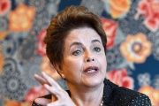 The most recently elected president of Brazil, Dilma Rousseff.