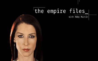 Abby Martin of teleSUR