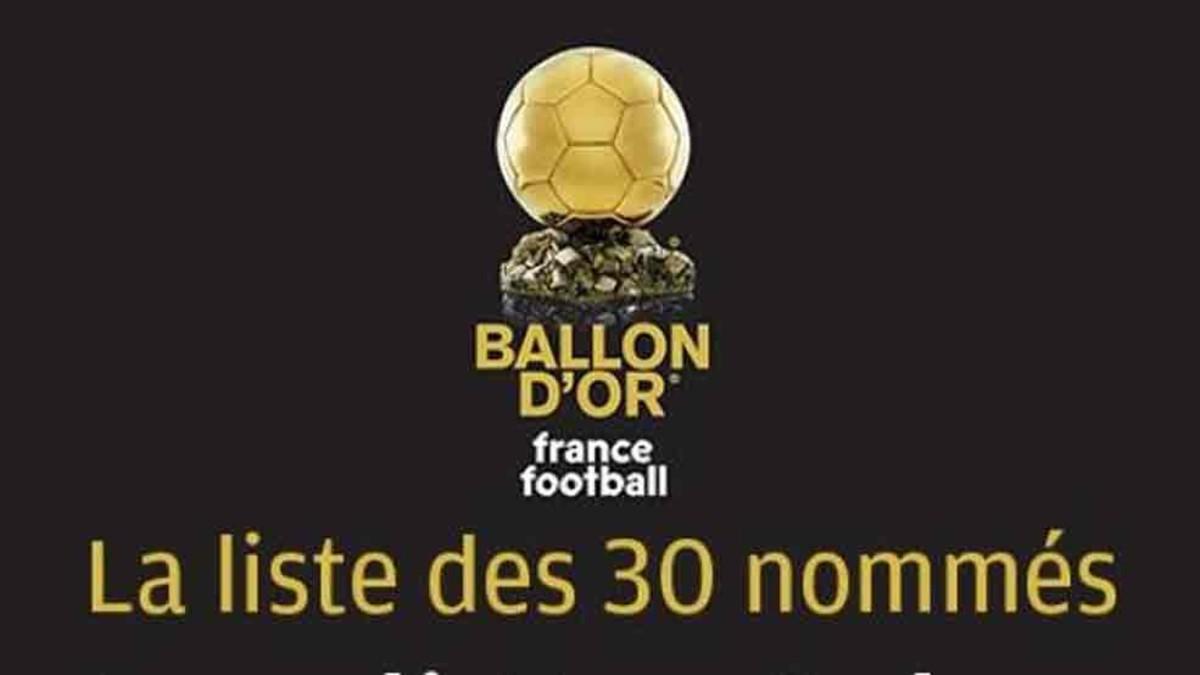 Ya se conocen los 10 primeros nominados al Balón de Oro 2017