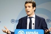 Deputy Secretary of Communication Pablo Casado threatened Catalonia.