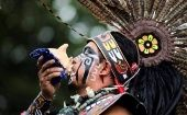 A pow-wow celebration of Indigenous Peoples