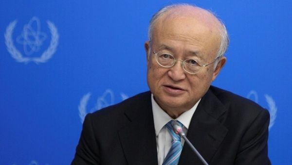 IAEA Director General Yukiya Amano.
