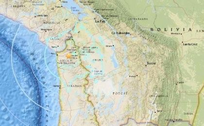 6.3-Magnitude Earthquake Strikes Northern Chile