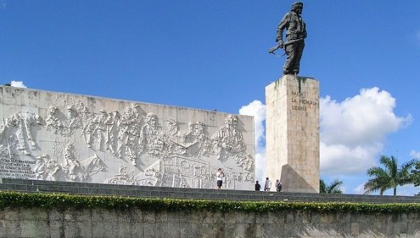The Che Guevara Monument and Mausoleum.