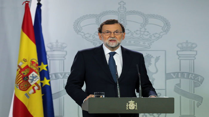 Rajoy requiere a Puigdemont que aclare si declaró independencia de Cataluña