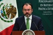 Mexican Foreign Minister Luis Videgaray talks to the senate concerning NAFTA on the eve of the fourth round of renegotiation talks.