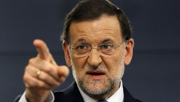 Prime Minister of Spain Mariano Rajoy.