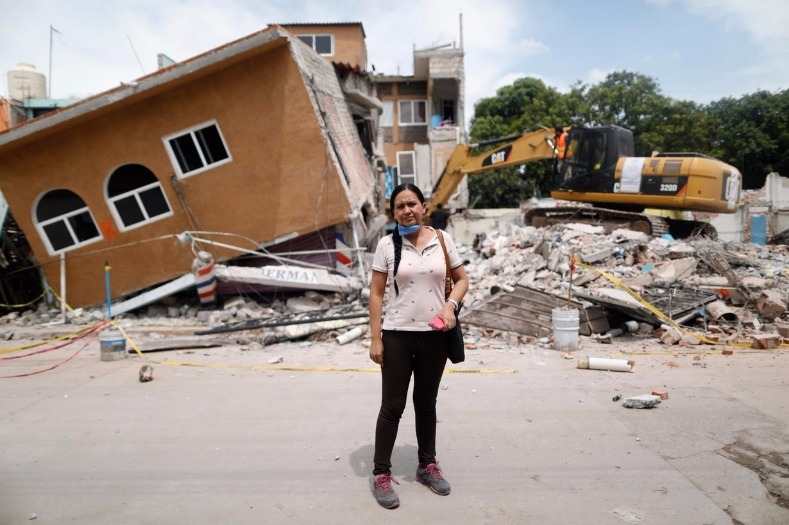 """I lost everything. My aunt died here,"" said Ana Maria Hernandez, 37, a clothing salesperson."