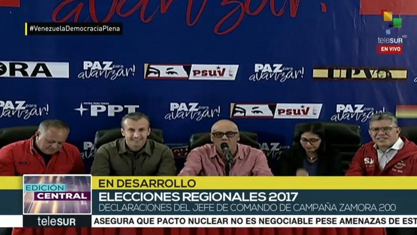 Rodríguez aseguró que hubo mucho más participación que en las regionales de 2012.