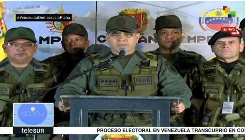Padrino López sostuvo que gracias a la demostraciónmasiva delvoto de los ciudadanos,Venezuela renació.