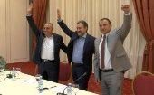 The pro-western Social Democratic Union of Macedonia party claimed victory in the Macedonian regional elections.