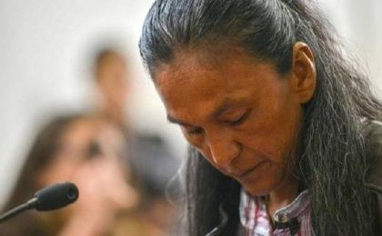On Saturday, Milagro Sala, Argentine Indigenous leader, was transferred from her home, where she had been placed under house arrest, to prison.