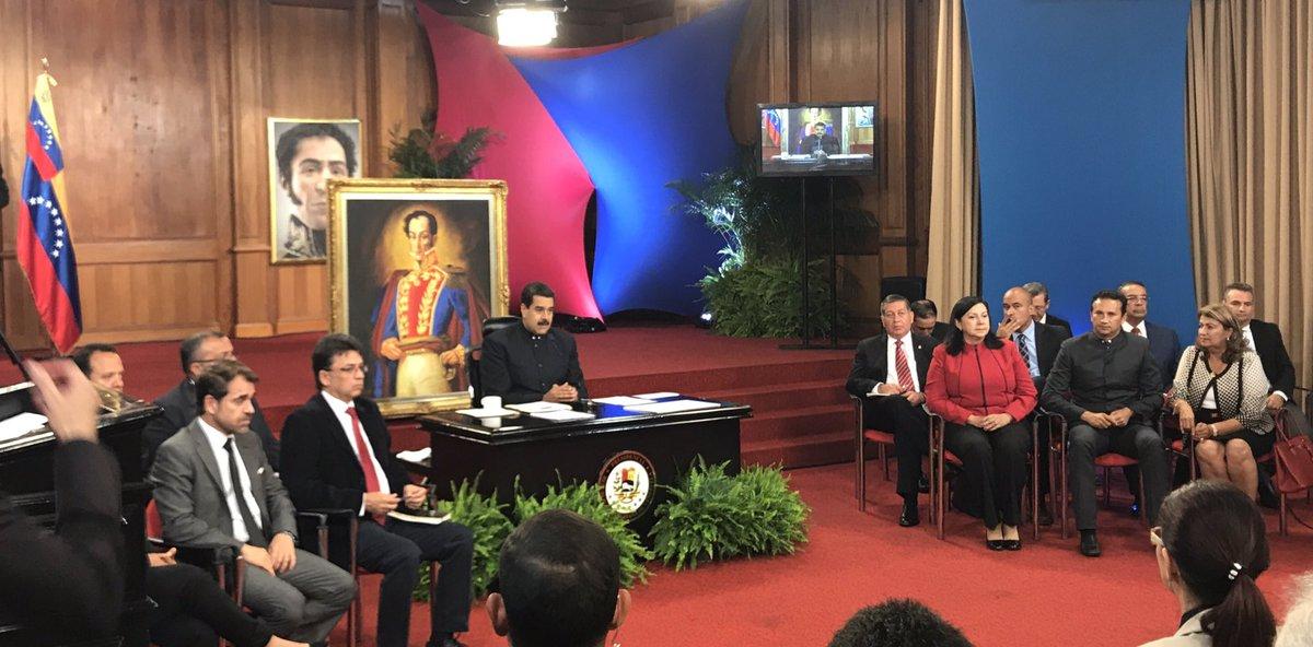Rechaza Maduro críticas de la Unión Europea a elecciones en Venezuela