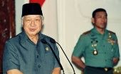 Boosted by the anti-communist purge of 1965-66, Suharto ruled Indonesia for 32 years.