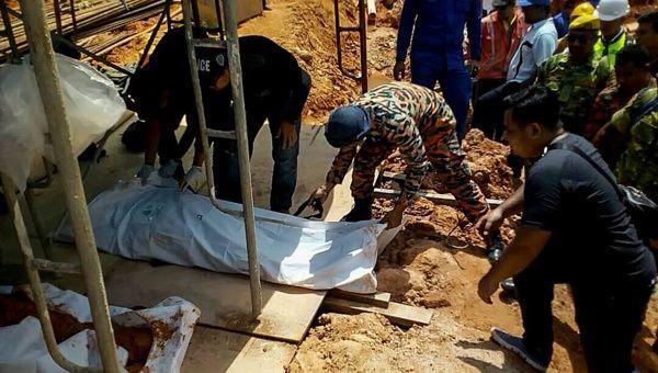 Corrimiento de tierra en Malasia deja al menos dos muertos