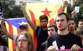 "CUP party calls for ""mass civil disobedience"" in response to Spain triggering Article 155."