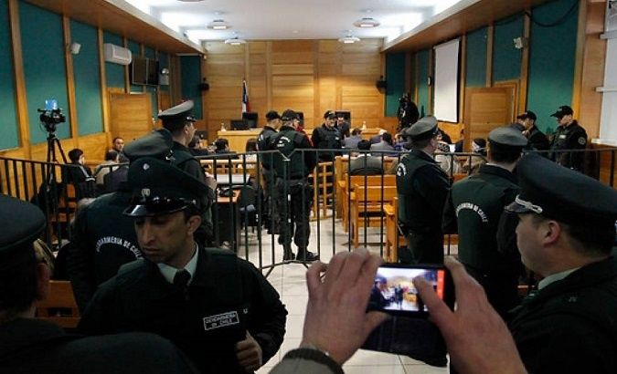 The presiding judge, Jose Ignacio Rau Atria, released the defendants from the hearing in the Oral Criminal Court of Temuco due to insufficient evidence.