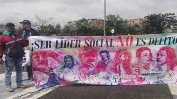 El asesinato del gobernador indígena se suma a los 125líderes sociales y defensores de derechos humanos asesinados en lo que va de 2017 en territorio colombiano.