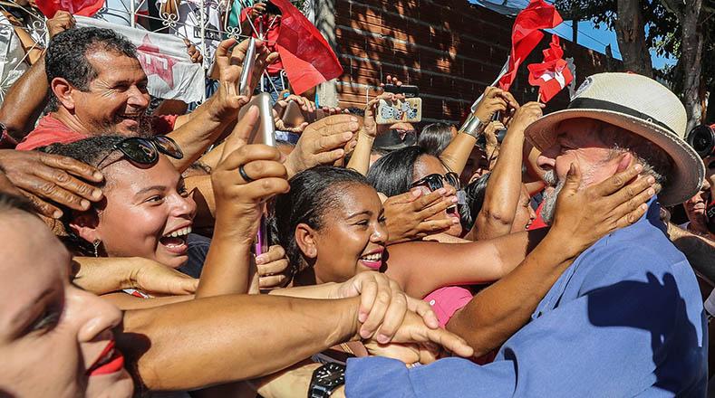 La Caravana de Lula en Minas Gerais se extenderá hasta el próximo 30 de octubre.