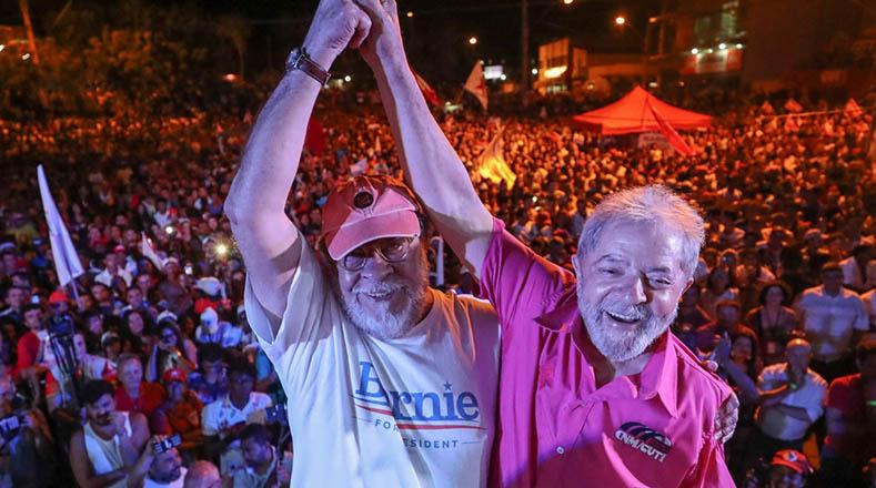 Este miércoles, Lula cerró la jornada en Araçuaí, Minas Gerais.