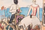 Zandvoort Seaside Café, a 1934 painting by Max Beckmann (1884–1950), features in the new Gurlitt Status Report exhibition.