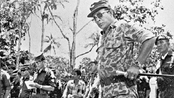 General Suharto led the massacre of over 500,000 communists and sympathizers in Indonesia.