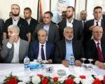 Senior Palestinian officials from Hamas and Fatah.