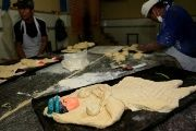 A bread roll in the shape of a child, is seen at the bakery in El Alto in the outskirts of La Paz, Bolivia.