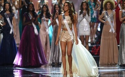 Miss Peru 2018 contestants speak out about violence against women.