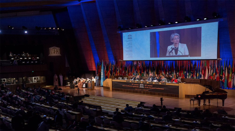 La Conferencia General de la Unesco está integrada por 195 miembros.
