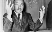 US civil rights leader Reverend Martin Luther King Jr, the subject of explosive allegations in a newly released secret FBI file.