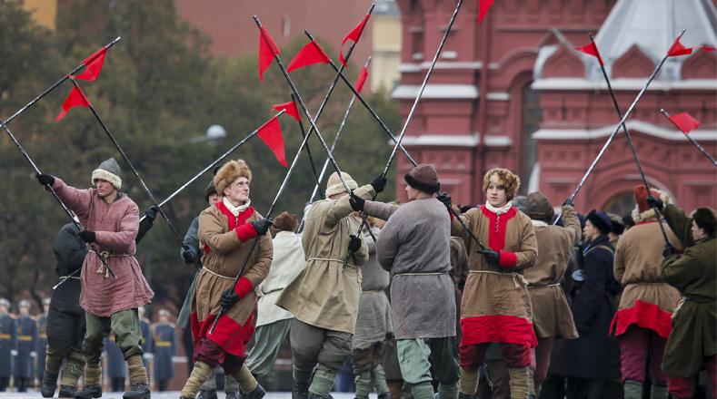 Múltiples actividades se desarrollan en Rusia para celebrar el centenario de la Revolución bolchevique.