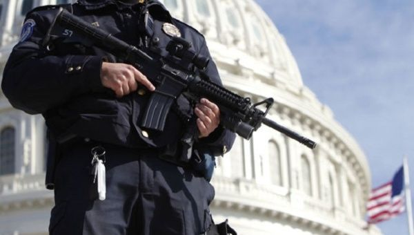 Nearly half of Americans support demilitarizing police: poll.
