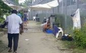Relocating the men on Manus Island is designed as a temporary measure, however, alternative accommodations are nowhere near ready.