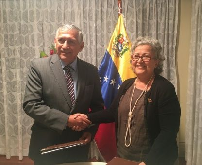 El ente electoral de Venezuela informó sobre el acuerdo a través de una nota de prensa publicada en su página web.