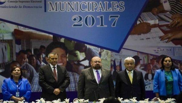 Nicaragua's Supreme Electoral Council Members