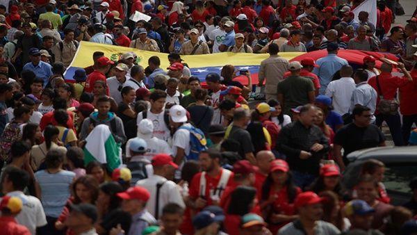 En Venezuela convocaron una manifestación que llegará hasta el Palacio de Miraflores.
