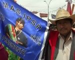 Supporters of Bolivian President, Evo Morales, gather to push fourth term re-election.