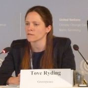 Tax Justice Coordinator Tove Maria Ryding of the European Network on Dept and Development
