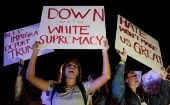 Florida too continued to witness protests on the fourth day as protesters refused to back down, carrying placards reading