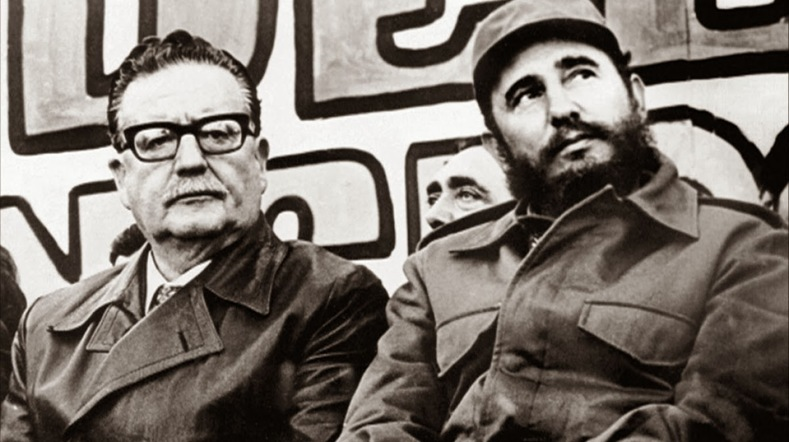 The two heads of state met in what was Castro