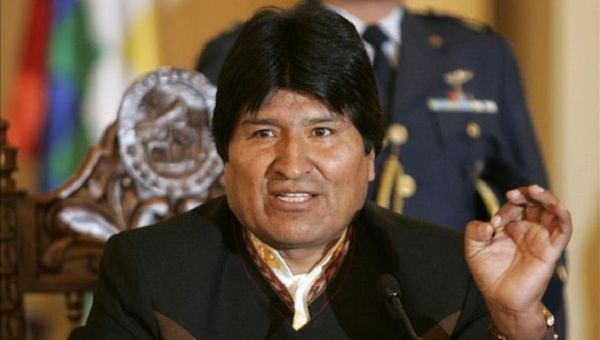 "Bolivian President Evo Morales won an exemption to allow the chewing and consumption of coca for ""cultural and medicinal purposes"" in 2013."