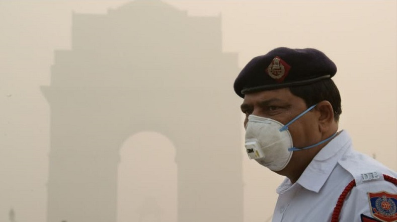 Medical professionals in New Delhi's primary hospital say breathing in the capital's air is equivalent to smoking 50 cigarettes a day.