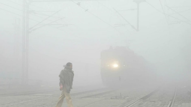 Due to the thick clouds of pollution, serious delays have been seen in all modes of transportation, particularly for railways and airways.