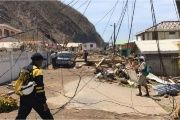 Devastation in Dominica in the wake of Hurricane Maria.