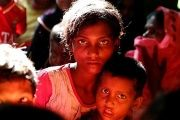 Myanmar's military has spared no Rohingya from violence, including young children, witnesses say