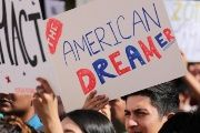 Students gather in support of DACA at the University of California Irvine Student Center in Oct. 11, 2017.